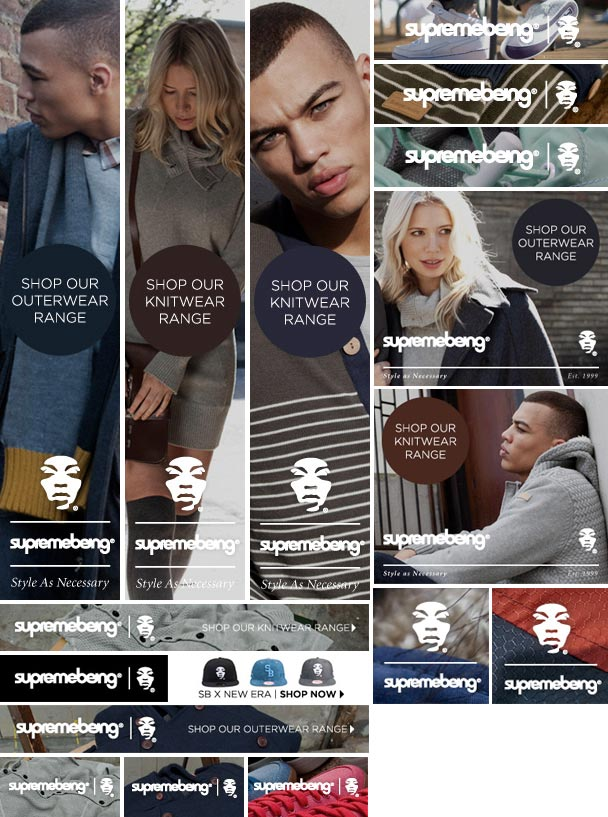 Supremebeing Creative Examples