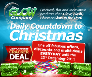 Glow Company Christmas Cracker Daily Deals