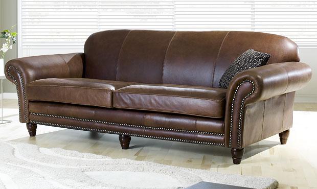Chelsea Leather Sofa - The Hub Sofas On Sale - The Hub
