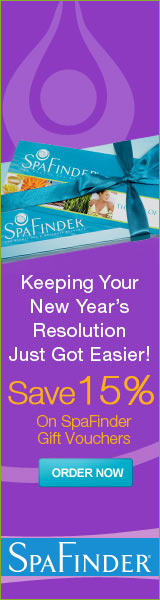 SpaFinder exclusive New Year Offer