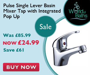 Pulse Single Lever Basin Mixer