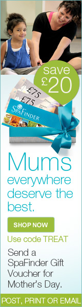 SpaFinder Mother's Day Offer