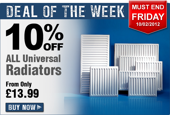 10% Off All Universal Radiators