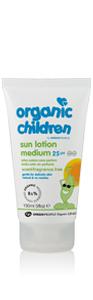 Scent Free Children's Sun Lotion