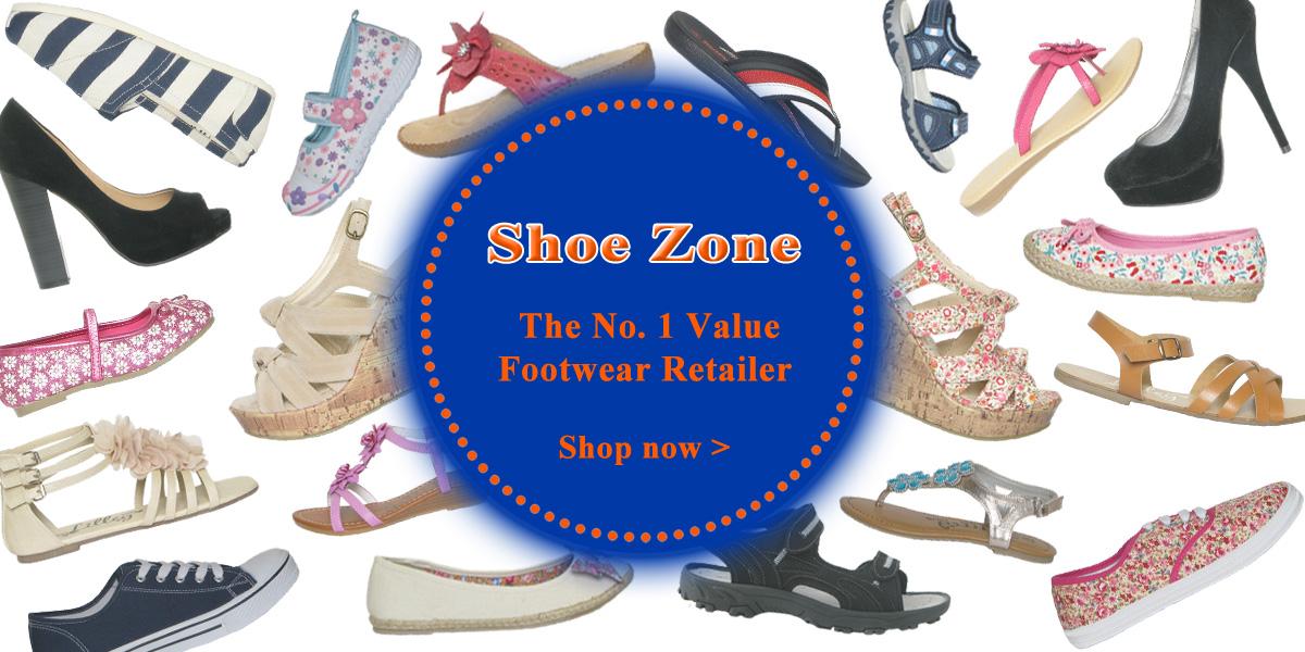 Shoe Zone the No. 1 Value footwear Retailer
