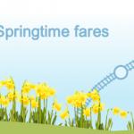 Springtime fares