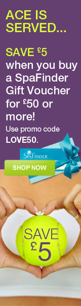 SpaFinder Wimbledon Gift Voucher Offer