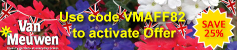 Jubilee offer - save 25% - use code VMAFF82 to activate offer (offer ends 5th June 2012)