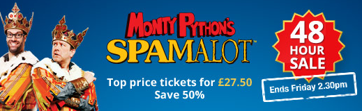 Spamalot 48 Hour Sale
