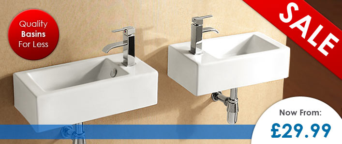 Basins on Sale