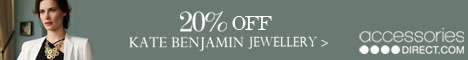 Kate Benjamin jewellery offer at accessories direct