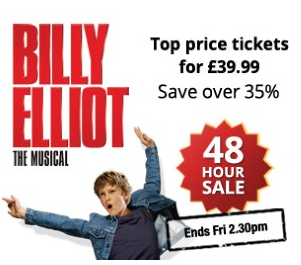 Billy Elliot 48 Hour Sale