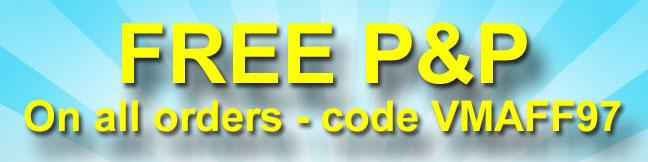 Free P&P at Van Meuwen