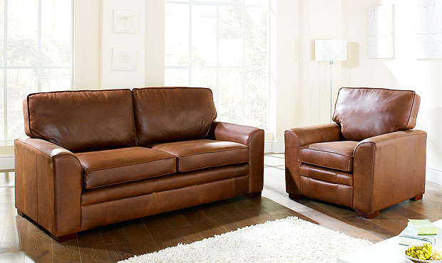 knightsbridge leather sofa