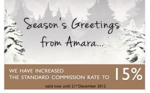Amara Christmas Promotion