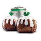 Christmas Pudding Bin Bags