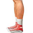 Sneakers Silly Socks