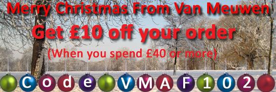 Get £10 off your order from Van Meuwen