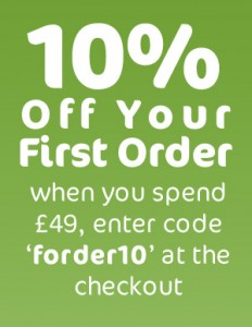 10% off first orders