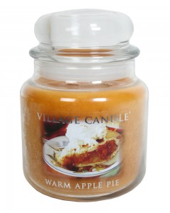 37% off on Warm apple pie two filled candle jars