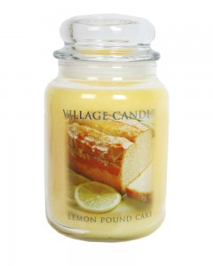 40% off on Lemon pound cake filled candle jar