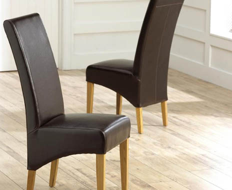 Cannes Brown Dining Chairs