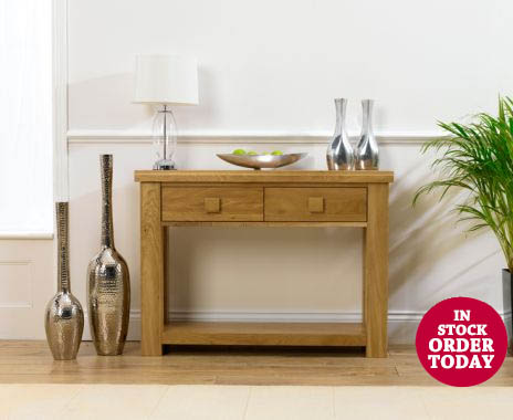 Kentucky Oak Console Table
