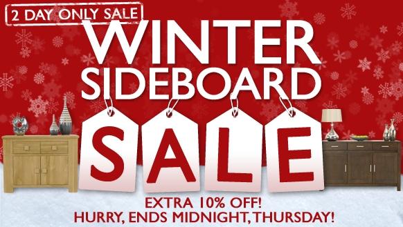 Oak Sideboard Sale