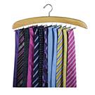 Chrome & Beech Tie Hanger