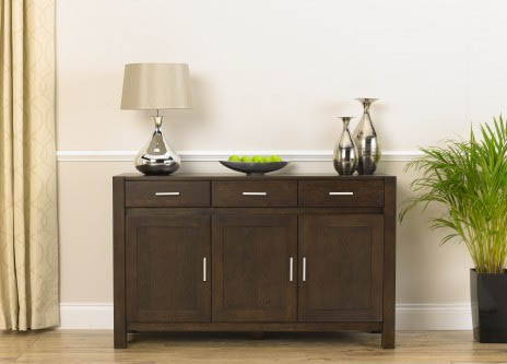 Verona Dark Oak Large Sideboard