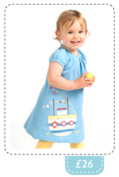 Frugi Baby Girls Lucy Dress