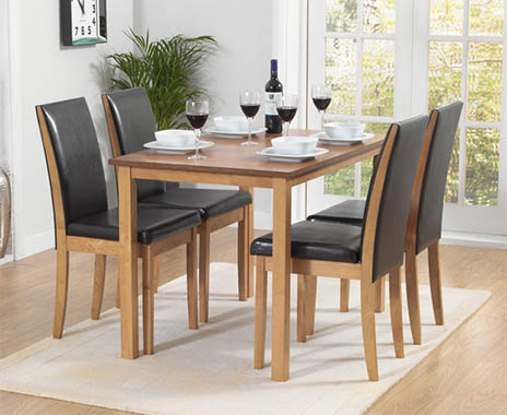 Girona 110cm Table and Chairs