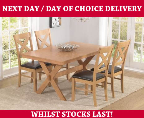 Harrogate Dining Table And Chairs