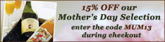 15% OFF our Mother's Day Selection