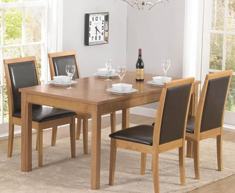 Suffolk 150cm Dining Table and Chairs