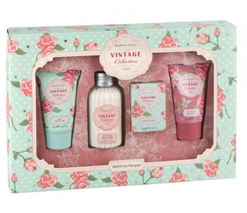 Vintage Rose Bathtime Pamper