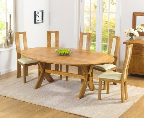 Bordeaux All-Sides Oak Extending Table & Toronto Chairs