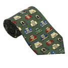 Vintage Cars Silk Tie
