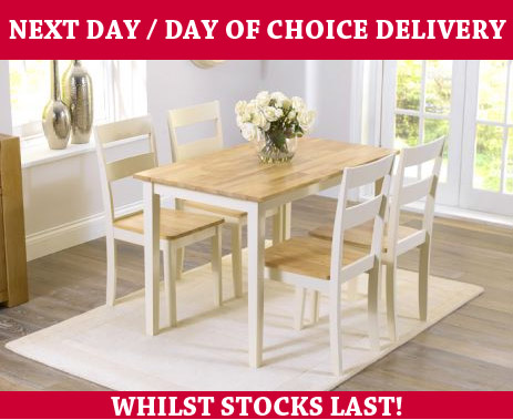 Chiltern Dining Table 4 Chairs