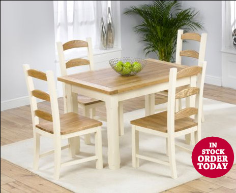 EtonPine120and4Chairs