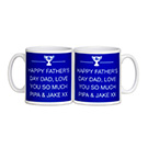 Personalised Father's Day Message Mug