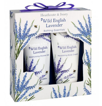 Wild English Lavender Bathing Essentials
