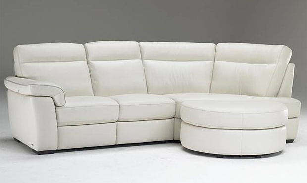Naples Italian Leather Sofa