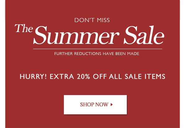 Extra 20% off to summer sale!