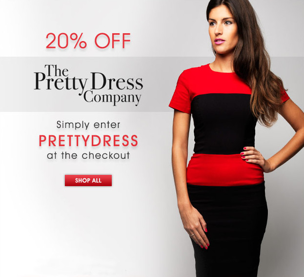 20% off The Pretty Dress Company