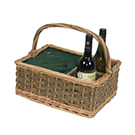 Willow Insualed Picnic Basket