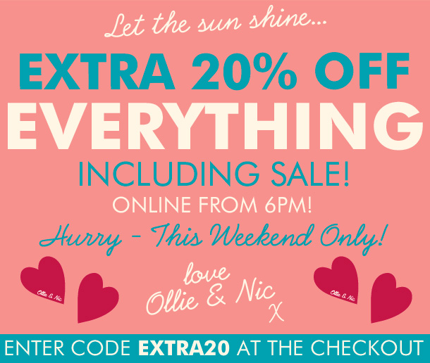 This Weekend Only: The Hub » Extra 20% Off Everything Voucher Code