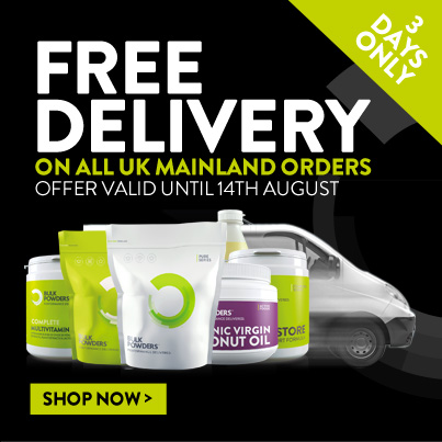BULK POWDERS free delivery