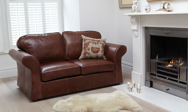 Belgravia Leather Sofa