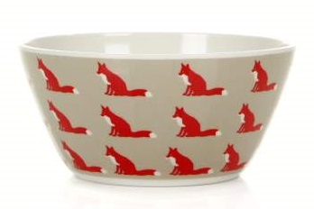 Anorak Proud Fox Melamine Bowl (1)3